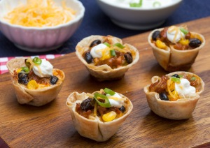 The Southwestern Chorizo Tostada Bites won in the overall and appetizer categories.